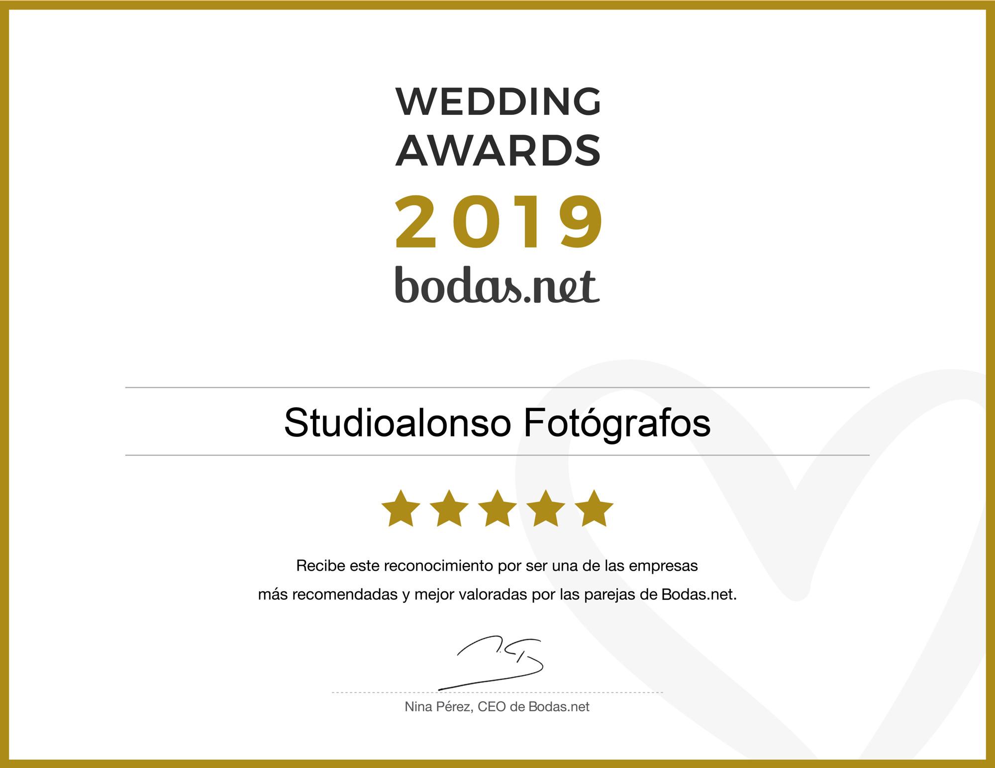 premio mejores fotografos bodasnet madrid