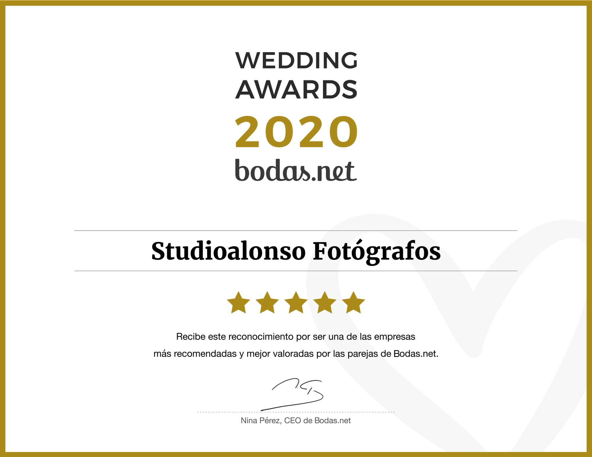 fotografos boda Wedding_Awards_2020 bodasnet studioalonso fotografos