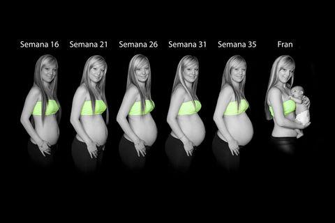 Fotografía estudio embarazadas