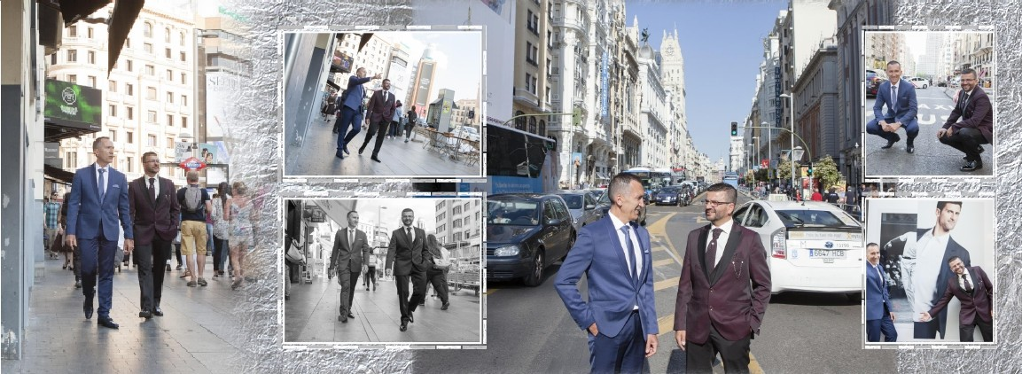 boda en madrid de chicos, album digital de boda